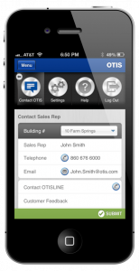 eService Mobile - Contact Otis